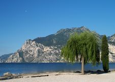 Scenery of Lake Garda, Italy Stock Photos