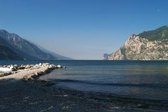 Scenery of Lake Garda, Italy Royalty Free Stock Images