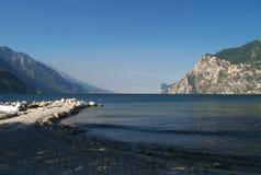 Scenery of Lake Garda, Italy Royalty Free Stock Images