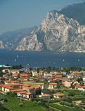 Scenery of Lake Garda, Italy royalty free stock photo