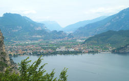 Scenery of Lake Garda, Italy Stock Image