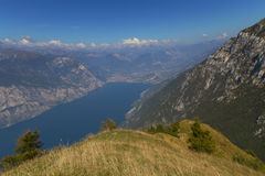 Scenery of Lake Garda (Italy) Stock Image