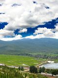 Scenery landscape near Lijiang City Stock Image