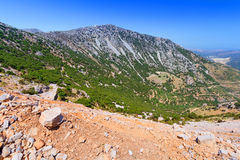 Lasithi mountains on Crete Royalty Free Stock Images