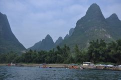 The scenery of Lijiang. The scenery of river Stock Photo
