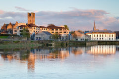 Scenery in Limerick city. Shannon river scenery in Limerick city, Ireland Royalty Free Stock Images