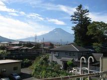 Scenery of magnificent Mt. Fuji stock image