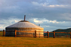Scenery in Mongolia Royalty Free Stock Photography
