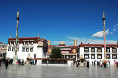 Scenery of the most famous lamasery in Lhasa Stock Photography