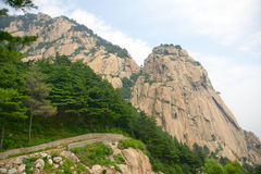 Scenery of Mount Taishan Stock Image