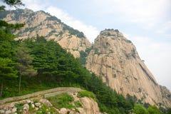 Scenery of Mount Taishan Stock Image