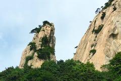 Scenery of Mount Taishan Stock Photo