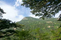 Scenery of Mount Taishan Stock Images