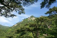 Scenery of Mount Taishan Royalty Free Stock Photo