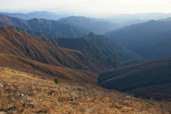 Scenery of Mt.Wutaishan Stock Photo