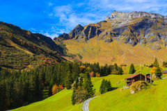 Scenery in Murren Royalty Free Stock Images