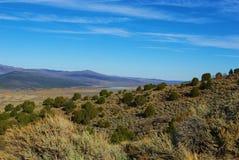 Scenery near Burrville, Utah. Scenery near Burrville with Koosharem Reservoir, Utah Royalty Free Stock Photography