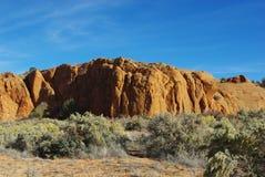 Scenery near Harris Wash, Utah. Scenery near Harris Wash in Utah Royalty Free Stock Photography