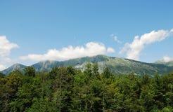 Scenery Near Kobarid. The Alpine landscape near the Slovenian village of Kobarid in the Littoral region Stock Photography