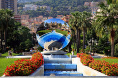 The scenery near the Monte Carlo Casino Royalty Free Stock Photo