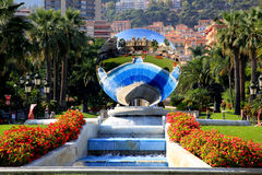 The scenery near the Monte Carlo Casino stock photography