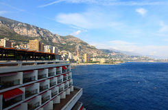 The scenery near the Monte Carlo Casino Stock Image