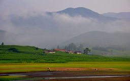 Scenery near Songhua River Royalty Free Stock Images