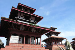 Scenery in Nepal Royalty Free Stock Photos