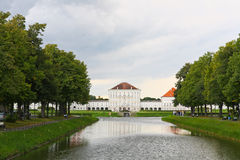 The scenery at the Nymphenburg palace Stock Photos