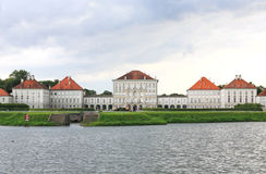 The scenery at the Nymphenburg palace Royalty Free Stock Photography