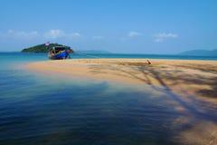 Scenery Of Beach Stock Photo