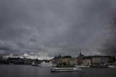Scenery of the Old Town in Stockholm Stock Image