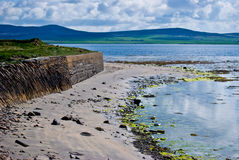 Scenery on Orkney Stock Image
