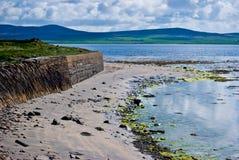 Scenery on Orkney Stock Image