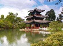 A scenery park in Lijiang China #4 Royalty Free Stock Image
