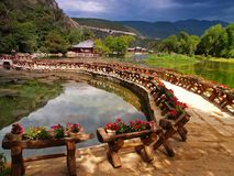 A scenery park in Lijiang China #6 royalty free stock photos