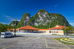 Scenery of Phang Nga Province Stock Images