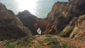 The scenery of the Portuguese coast royalty free stock images