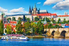 Scenery of Prague, Czech Republic Royalty Free Stock Image