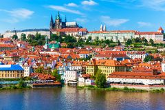Scenery of Prague, Czech Republic Stock Photos