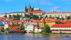 Scenery of Prague, Czech Republic stock video footage