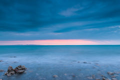 The scenery of Qinghai Lake Royalty Free Stock Photography