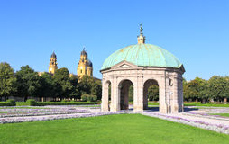 The scenery at the Residenz in Munich Stock Image