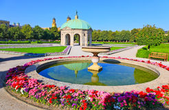 The scenery at the Residenz in Munich Royalty Free Stock Photo