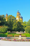 The scenery at the Residenz in Munich Royalty Free Stock Image