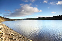 Scenery of river in Ireland Co.Cork. Stock Photos