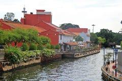 Scenery riverside in Malacca, Malaysia Stock Photography