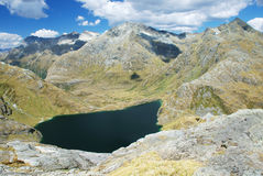 Scenery from Routeburn track Royalty Free Stock Images