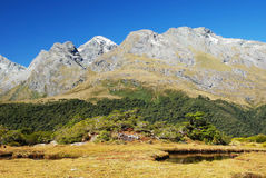 Scenery from Routeburn track Stock Photos