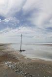 The scenery of Saline Lake Royalty Free Stock Photos